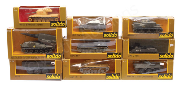 GRP inc Solido Military No.248 Char M41; No.202