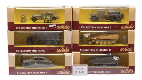GRP inc Solido Military No.6031 BTR40; No.6061