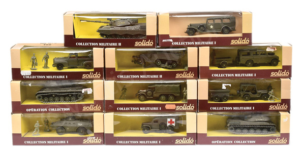 GRP inc Solido Military No.6040 Dodge Pick-up