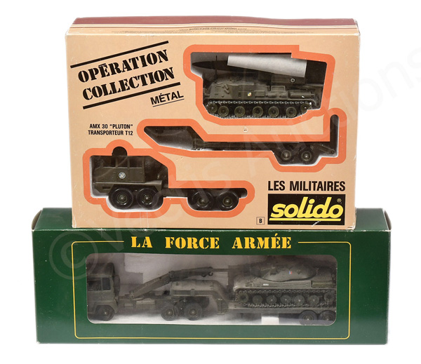 PAIR inc Solido Set Low Loader with Tank - Near