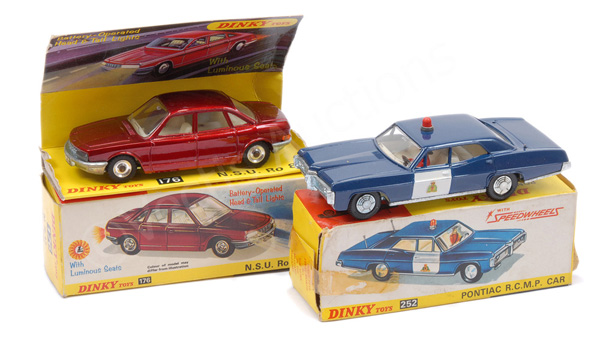 PAIR inc Dinky No.176 NSU RO80 - this battery