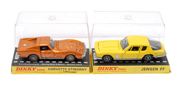 PAIR inc Dinky No.188 Jensen FF - yellow body