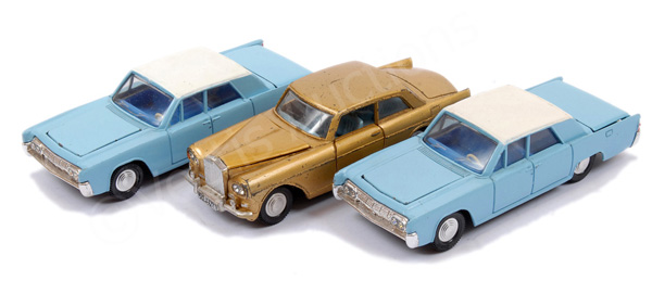 GRP inc Dinky unboxed Rolls Royce Silver Cloud