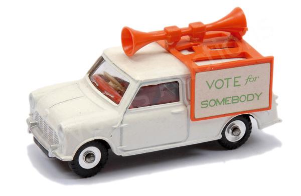 Dinky unboxed Mini Van