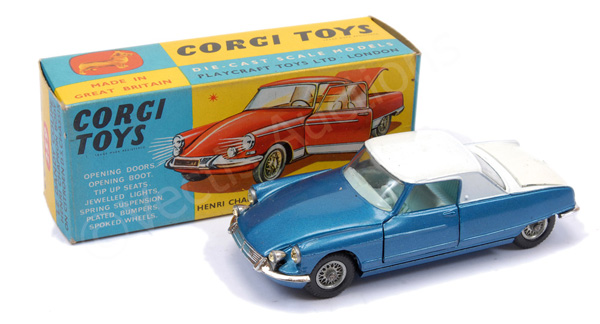 Corgi No.259 Le Dandy Coupe - two-tone blue
