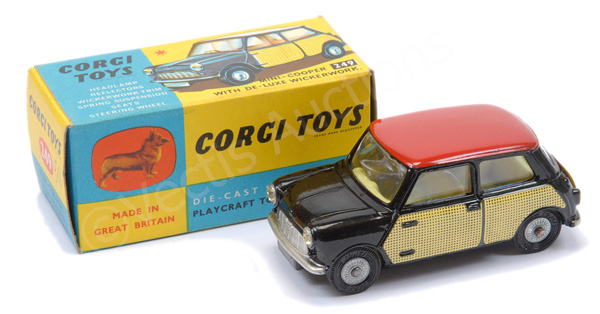 Corgi No.249 Morris Mini Cooper