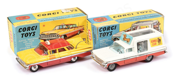 PAIR inc Corgi No.480 Chevrolet Impala
