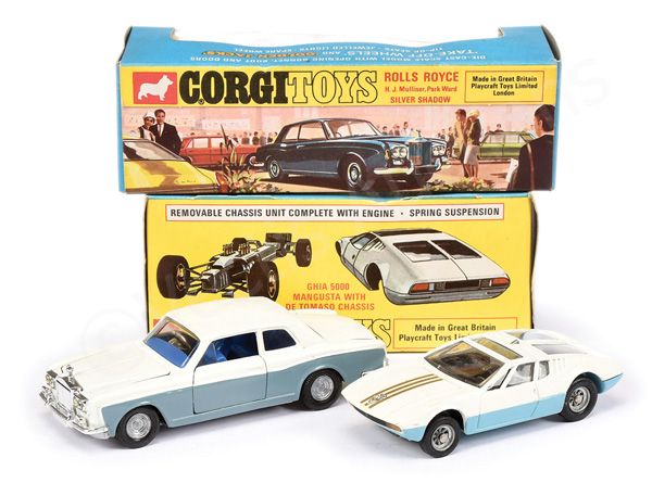 PAIR inc Corgi No.271 Ghia 5000 Mangusta