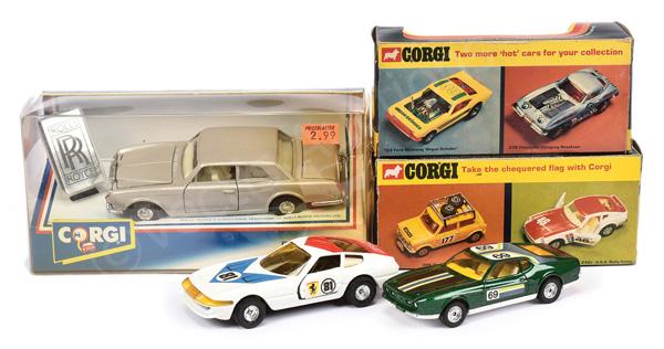 GRP inc Corgi No.323 Ferrari Daytona - white