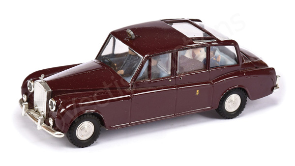 Spot-on unboxed Rolls Royce