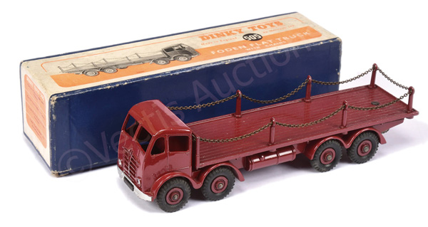 Dinky No.505 Foden (2nd type) Flat Truck