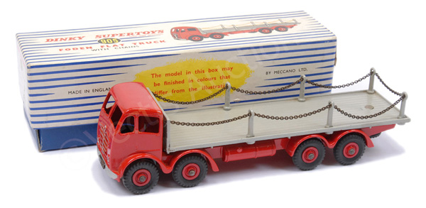 Dinky No.905 Foden (2nd type) Flat Truck