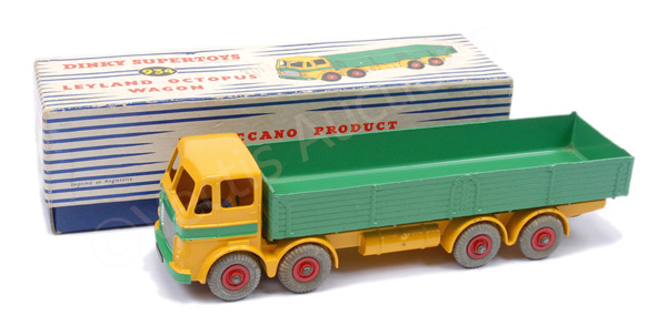 Dinky No.934 Leyland Octopus Wagon - yellow