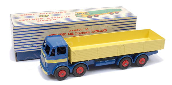 Dinky No.934 Leyland Octopus Wagon - blue cab