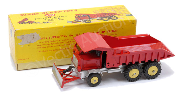 Dinky No.959 Foden Dump Truck with Bulldozer