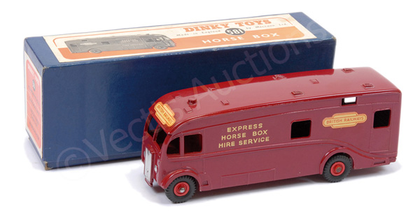 Dinky No.581 Horse Box