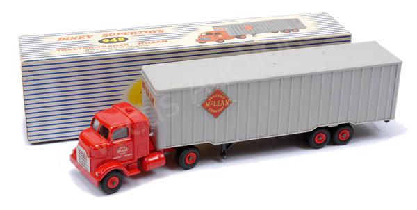 Dinky No.948 Tractor Dash Trailer