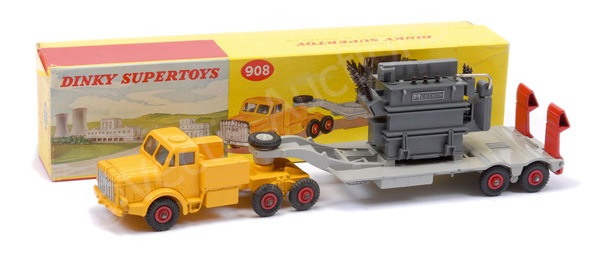 Dinky No.908 Mighty Antar with transformer load