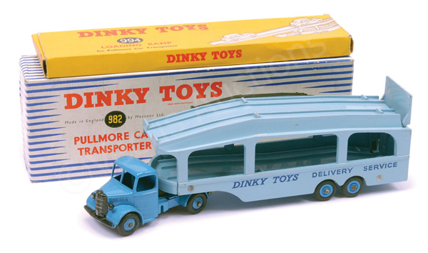 PAIR inc Dinky No.982 Bedford Pullmore Car
