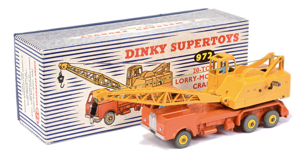 Dinky No.972 Lorry Mounted Crane
