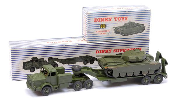 PAIR inc Dinky No.660 Mighty Antar Tank