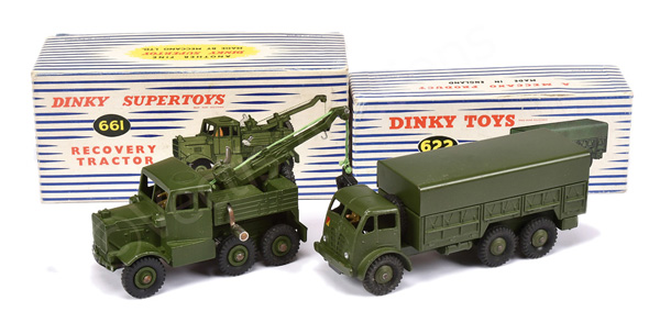 PAIR inc Dinky Military No.622 10-ton Truck