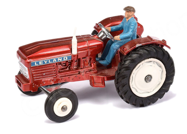 Dinky No.308 Leyland Tractor - metallic red