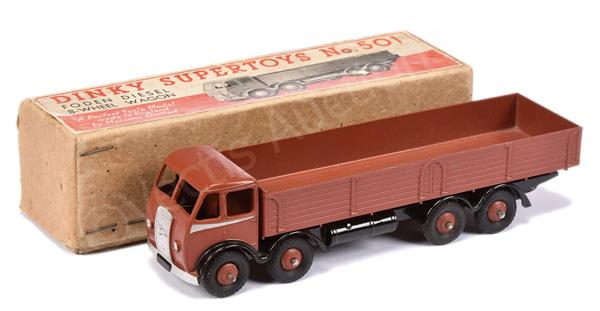 Dinky No.501 Foden (1st type) Diesel 8-wheel