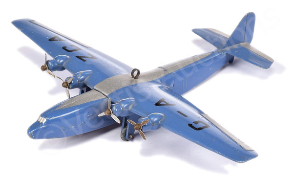 Dinky No.62x British 40-seater Airliner - blue