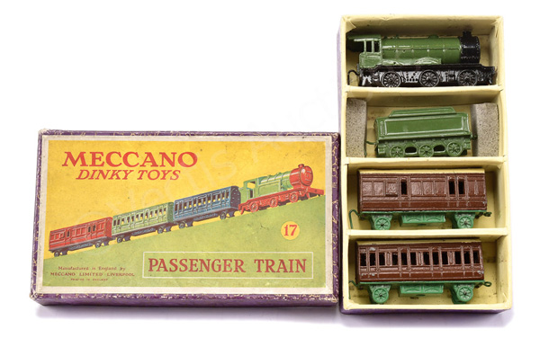 Dinky (Meccano) No.17 Passenger Train - loco