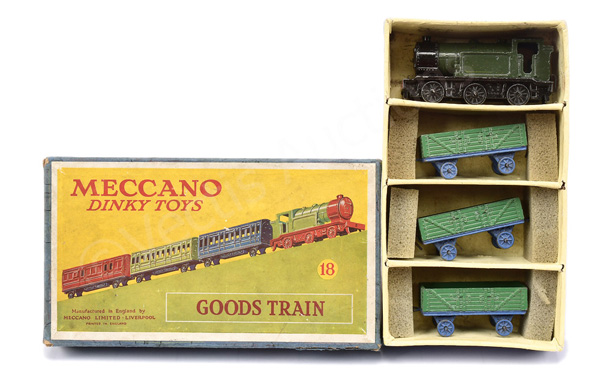 Dinky (Meccano) No.18 Goods Train - green