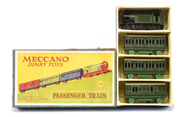 Dinky (Meccano) No.20 Passenger Train - loco
