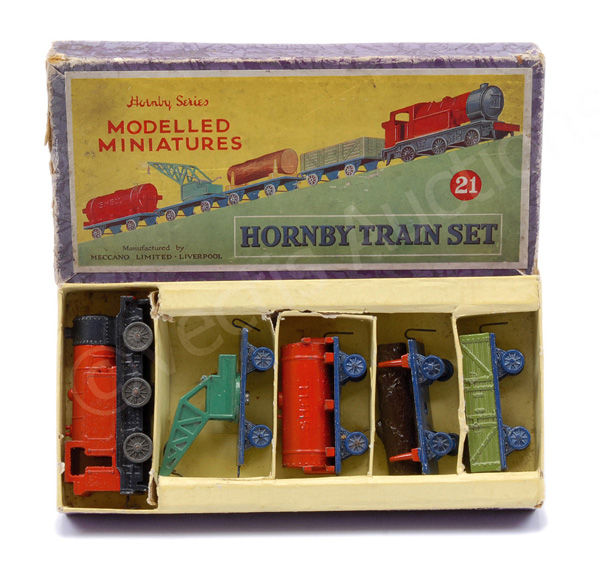 Dinky (Hornby Series) No.21 Hornby Train Set
