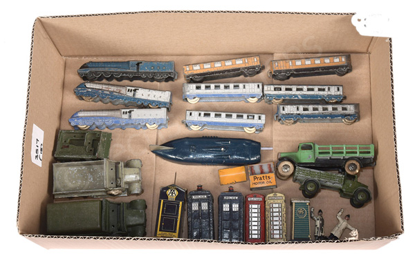 GRP inc Dinky mainly pre-war models