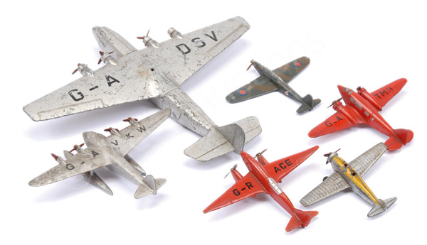 GRP inc Dinky Aircraft Ensign Class Airliner