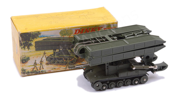 French Dinky No.883 Char AMX Bridge Layer