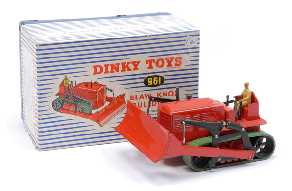 Dinky No.961 (561) Blaw Knox Bulldozer - red