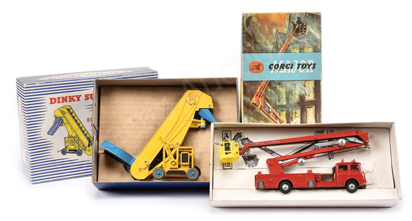 PAIR inc Dinky No.964 Elevator Loader - yellow