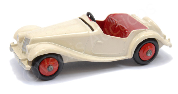 Dinky No.129 (108) MG Midget Sports Car