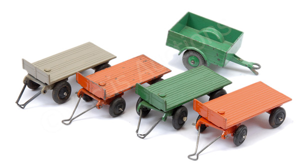 GRP inc Dinky 25 Series Trailer 4 (1) green