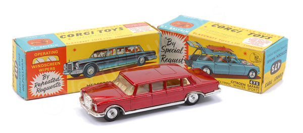 PAIR inc Corgi No.247 Mercedes 600 Pullman