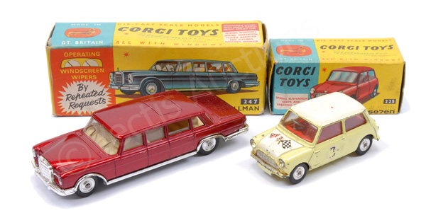 GRP inc Corgi No.247 Mercedes 600 Pullman