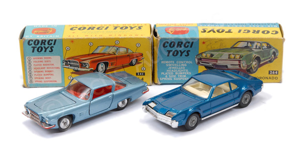 PAIR inc Corgi No.241 Ghia L.6.4 - blue body