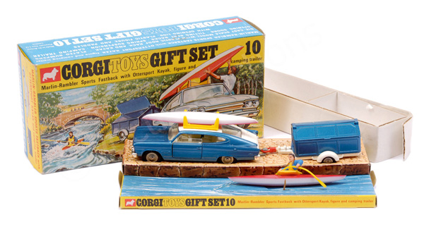 Corgi No.GS10 Gift Set Marlin Rambler Sports