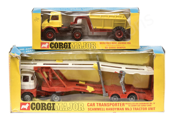 PAIR inc Corgi No.1145 Mercedes Unimog 406