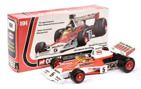 Corgi No.191 (1/18th scale) McLaren M23 Formula