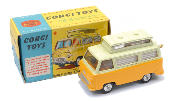 Corgi No.420 Pre-production colour trial Ford