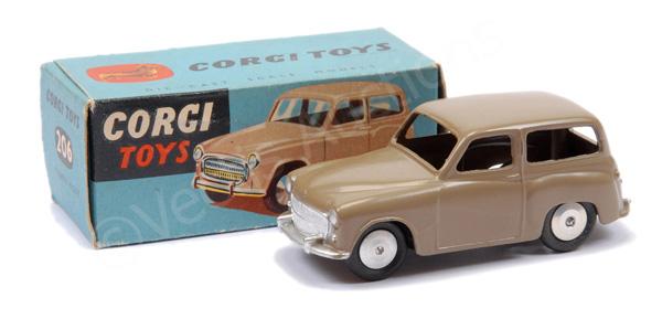 Corgi No.206 rare factory Pre-production Hillman