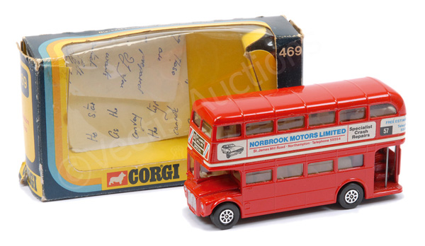Corgi No.469 Routemaster Bus - promotional issue