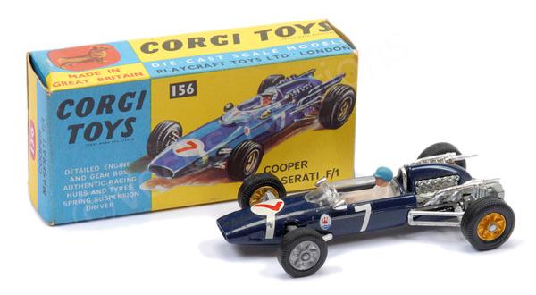 Corgi No.156 Cooper Maserati Formula 1 Racing